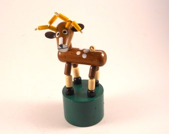 Cute Deer Bendable Vintage Toy