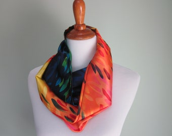 Vibrant and Beautiful Infinity Scarf