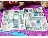 The Deathly Hallows- Harry Potter Inspired Weekly Sticker Kit for Erin Condren Planners