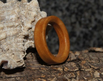 Size 5 1/2 - Olive Wood Ring
