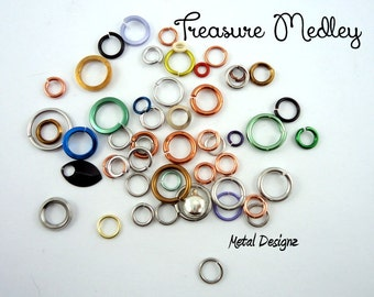 Treasure Medley Jump Ring Assortment