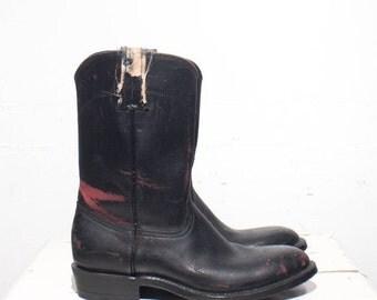 40% off Sale 7 B | Custom Made Women's Pull On Roper Boots