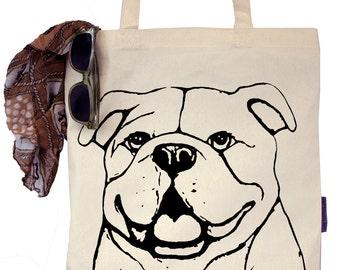 Bianca the English Bulldog - Eco-Friendly Tote Bag