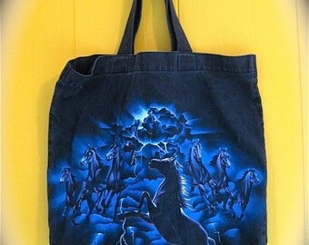 "on sale Serious Stallions Kickass Tote Bag ""Colorado"""