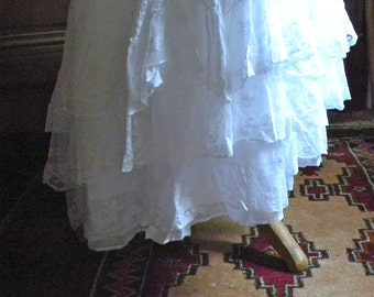 An amazing vintage French Petticoat