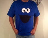 Mens Cookie Monster Tshirt - Sizes S M L XL and XXL