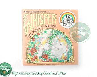 1980s Whisper's Magic Mirror Starring Whisper the Winged Unicorn