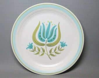 Franciscan TULIP TIME dinner plates , this is for TWO (2)