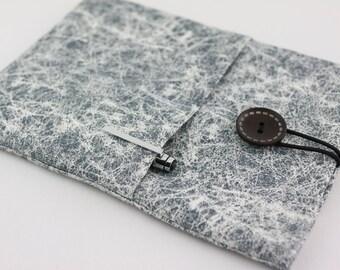 iPad / iPad Air Case, iPad mini Sleeve, iPad Cover, PADDED, with pockets for iPhone - Gray