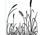 GRASS Embossing Folder by Darice Size A2