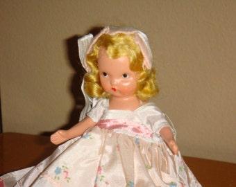 Nancy Ann Story Book Doll 1940s NASB Bisque Frozen Leg