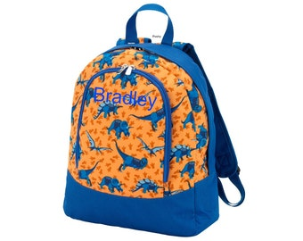 Personalized Toddler Backpacks in Dino Mite