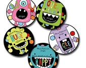 MONSTER SPOT Personalized stickers for Teachers