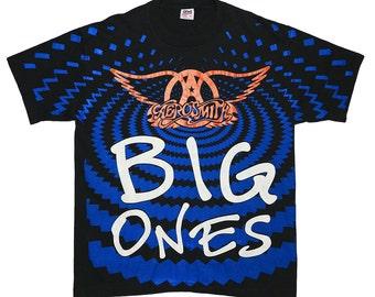 Aerosmith Shirt Vintage tshirt 1994 Big Ones Concert tee Original Steven Tyler Band 1990s