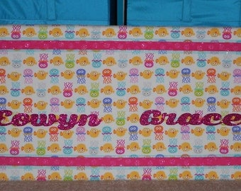 Customized Memory Board  - Choose Your Colors and Personalize