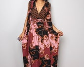 Boho Dress - Funky Kimono Butterfly Tube Dress : Elegant Collection