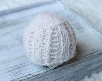 new born light pink beanie hat,organic beanie hat