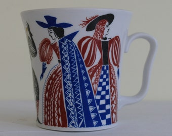 Lomonosov Mug USSR - 16th Century Costume Mug