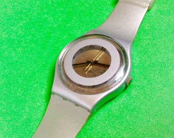 Swatch vintage Watch 1995 Wrist Watch large dial unusual model