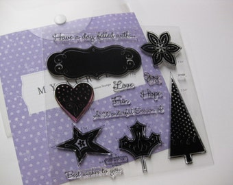 Acrylic Stamp Set - Close to My Heart #D1498