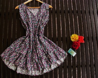 Floral summer dress Size S - M
