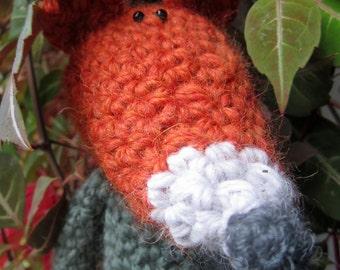Crochet Pattern for Rusty the Fox