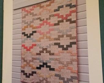 Interlock quilt pattern by Amy Friend jelly roll friendly