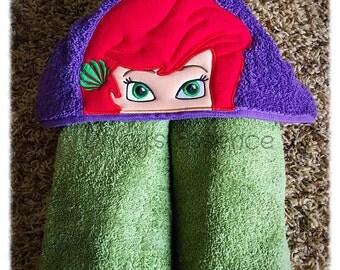 Ariel Hooded Towel