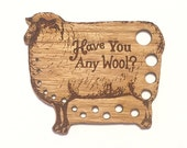 Retromantic Fripperies Vintage Style Knitting Needle Gauges in a Variety of Styles-Fluffy Sheep, Classic Sheep, Cow