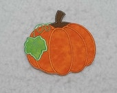Pumpkin - MADE to ORDER - Choose COLOR and Size - Tutu & Shirt Supplies - Iron on Applique Patch 7779