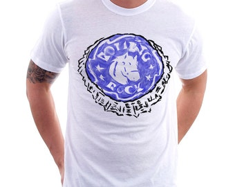 Abstract Beer Cap Art Tee #25