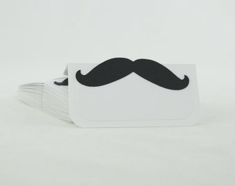 Mustaches Tent Place Card, Food label, Buffet Food Label, Party Decoration