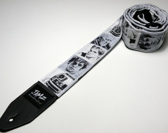Popular sci-fi characters handmade guitar strap - This is NOT a licensed product