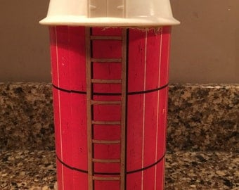 Vintage Toy Barn Canister