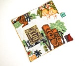Reusable Sandwich Bag - Reusable Snack Bag - Tiki
