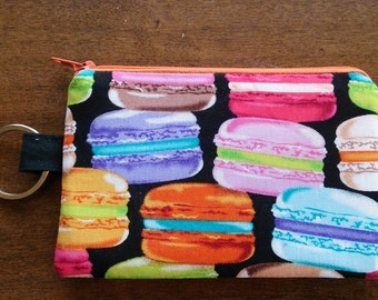 Keychain Coin Pouch - Macrons
