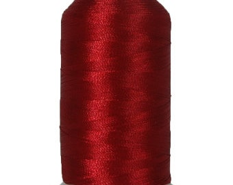 No. 115 (Red Brick) 1000m Polyester Spool of Embroidery Machine Thread