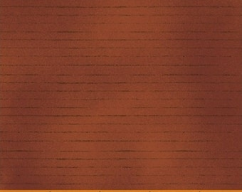 COUNTRY STORE, Red plank wood siding for landscape quilts  cotton print by the yard  Windham Cotton Fabric 41278-5