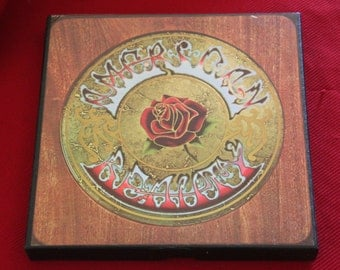 Grateful Dead AMERICAN BEAUTY reel to reel tape 3.75 i.p,s. hi fi stereo