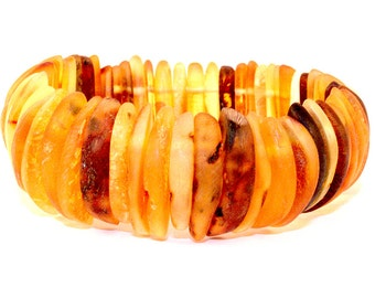Raw Natural Baltic Amber Bracelet