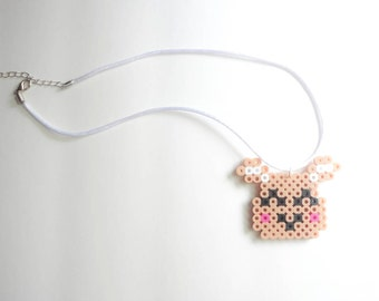 Kawaii Happy Dog Necklace