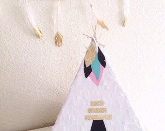 Teepee Pinata For Pow-Wow Birthday Party