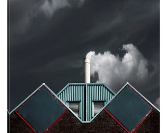 iCanvas The Cloud Factory Gallery Wrapped Canvas Art Print by Gilbert Claes