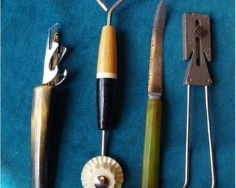 4 Vintage Kitchen Utensils