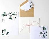 Printable Wedding Invitation Template, Floral Watercolor Art, DIY Modern Invitation
