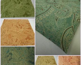 Laura Ashley Collection - Sandon-Paisley pc- 24inchx24inch- Linen