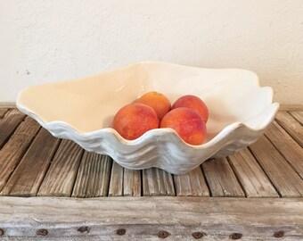 Vintage Clam Shell Bowl