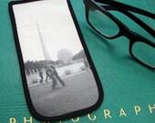 Eyeglass Case with Vintage Photo: 1939 New York World's Fair