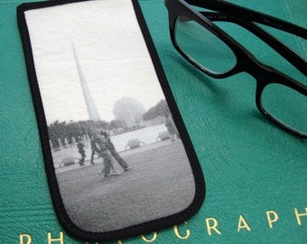 Eyeglass Case with Vintage Photo: 1939 New York World's Fair
