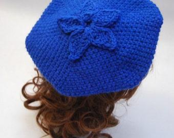 Crochet Blueberry Beret